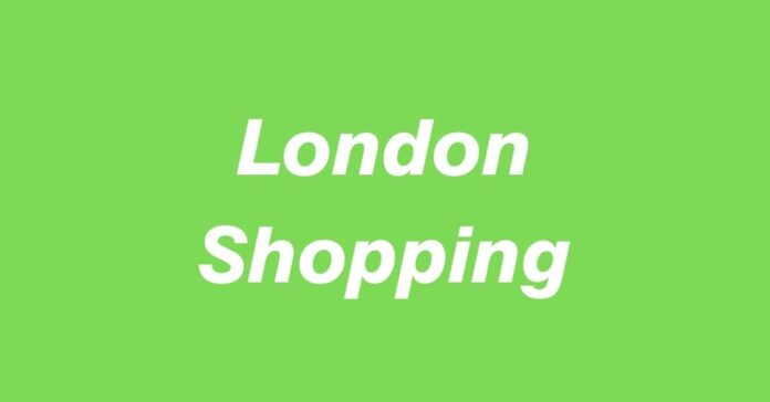 Gay London Shopping