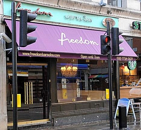 Freedom Bar, Soho
