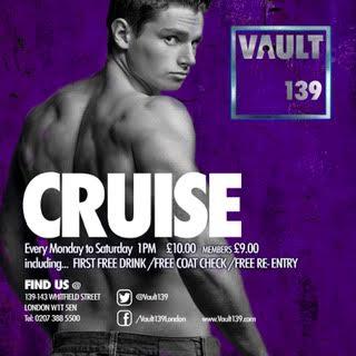 Cruise: Mon-Sat